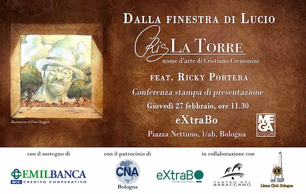 Cris La Torre Tenore e Scrittore a Bologna