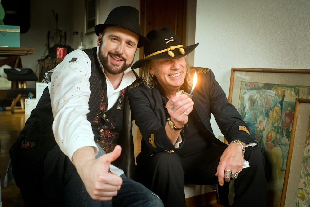 Artisti da casa webshow 2020 Ricky Portera e Cris La Torre