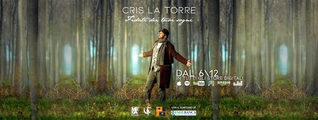 """Cris La Torre Bologna nuovo singolo """"Fidati dei tuoi sogni"""""""